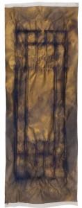 Miguel Mainar. Sin título 7. Técnica mixta sobre papel, 160x60 cm, 2011